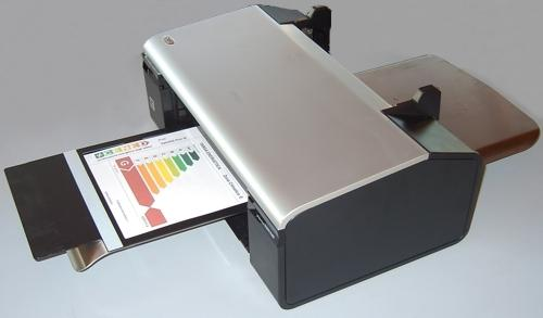 Stampante per targa energetica edifici